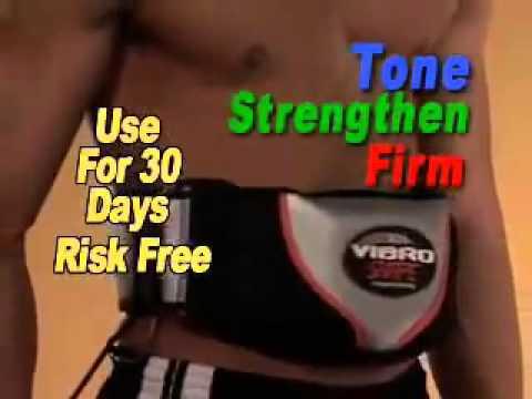 [Đai massage bụng] -  Đai mát xa quấn nóng Vibro Shape - 0909 66 22 19