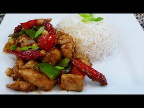 Kung Pao Chicken Recipe, Chinese food recipe