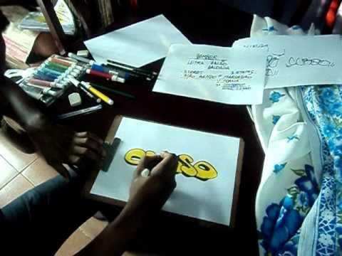 Video aula com Gene do Grafite 002 - Bomber e Tag
