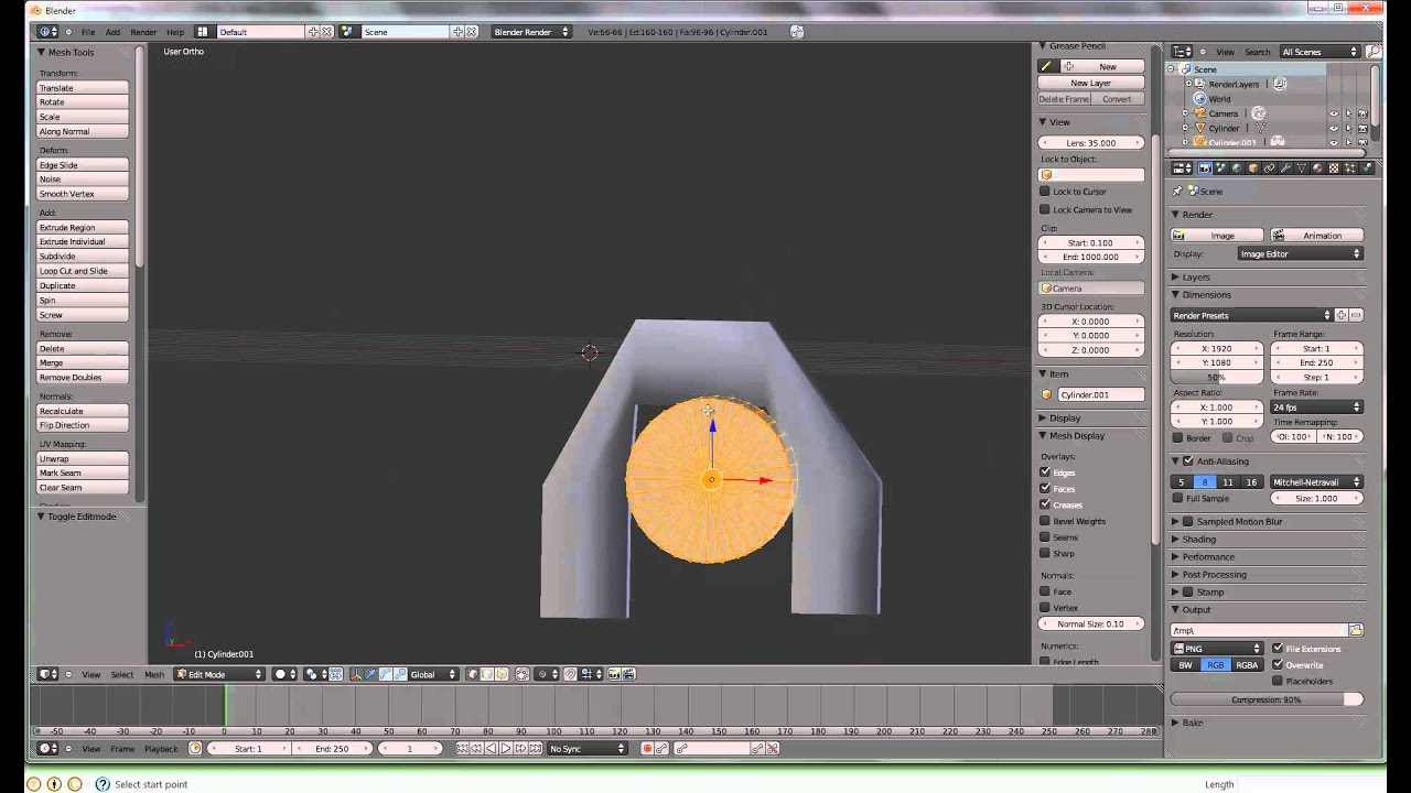 how to add multiple edge loops blender