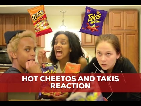 Hot Cheetos & Takis Reaction