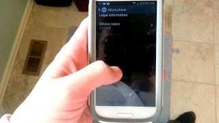 Enable Debugging On Verizon Samsung Galaxy S3 (4.3)
