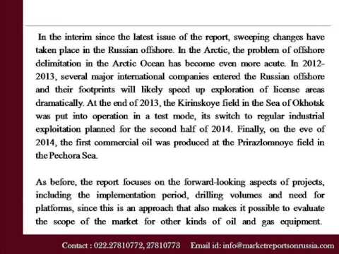 Russian Offshore Oil & Gas Fields Development