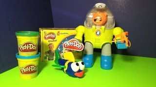 Play Doh Fishy With Disney Junior Octonauts How To Make