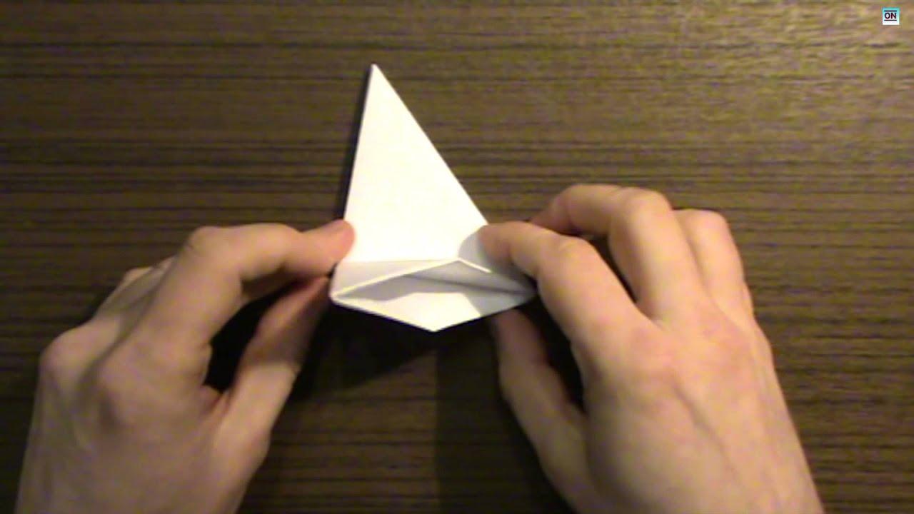 Как из бумаги сделать юлу из