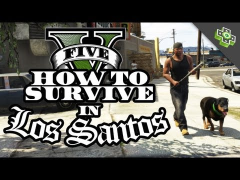 """Advice for Playing GTA 5 - Making Money, Exploring, and Staying """"Regular"""" with Adam Sessler,"""
