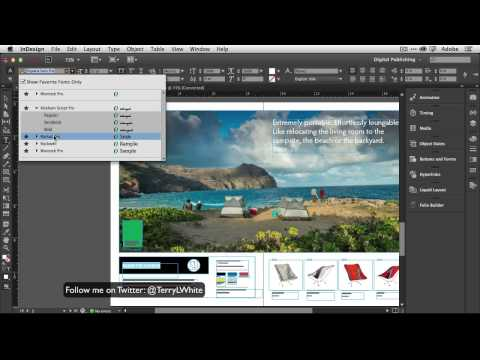 tutorial: Adobe InDesign CC - My Top 5 Favorite Features