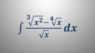 Nedoločeni integral 13