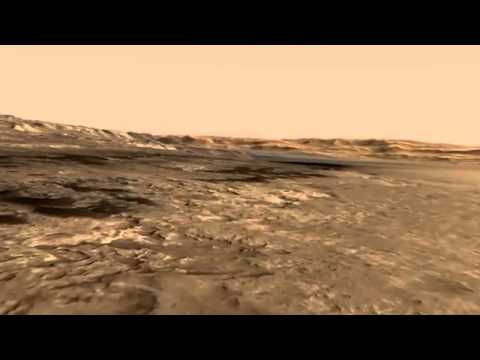 NASA illustrates Gale Crater on Mars