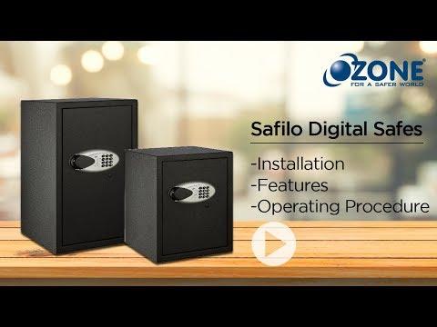 <span>Ozone Safilo Digital Safe</span>
