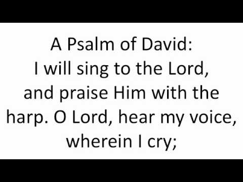 First Hour Psalm from Eve of Monday Holy Pascha - English