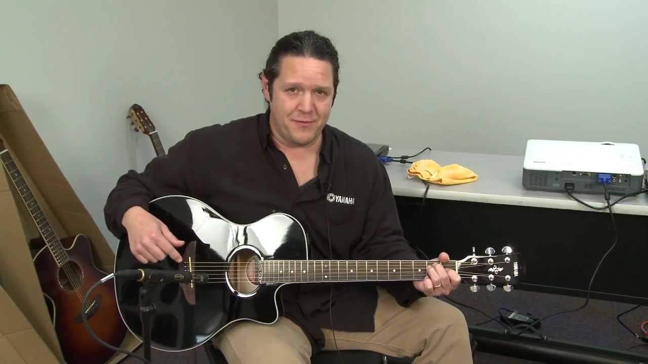 Yamaha Apx500 Acoustic Electric Guitar Overview Full
