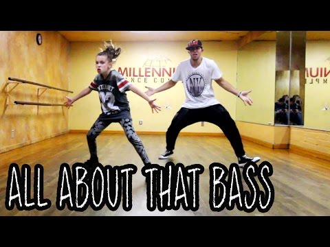 ALL ABOUT THAT BASS - @Meghan_Trainor | @MattSteffanina ft 11 Year Old Taylor | Dance Video