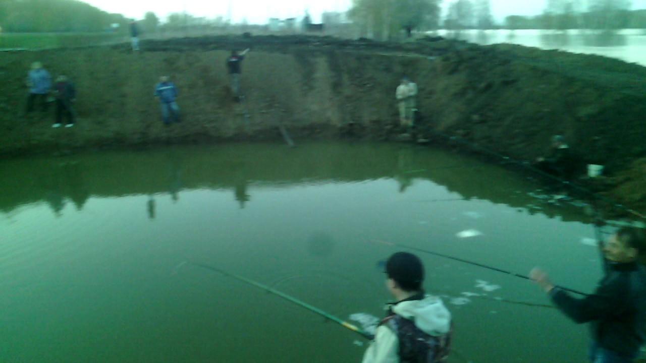 рыбалка цаплино