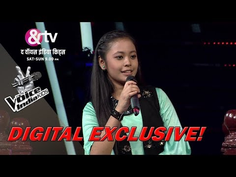 Neelanjana Ray Exposes Her Father | Moment | The Voice India Kids - Season 2