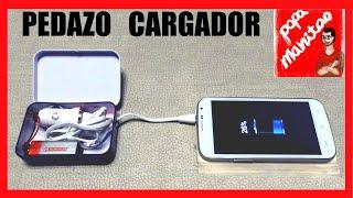 Cómo hacer un cargador portátil casero para móvil