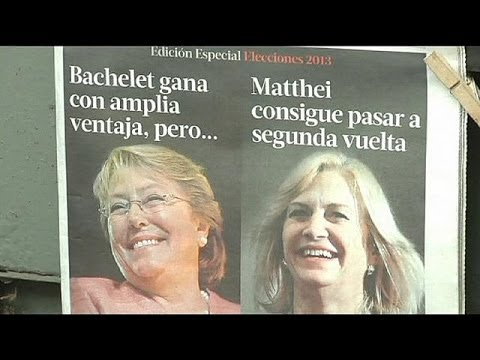 Hard fight ahead for Bachelet in Chile presidential run-off