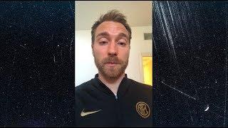 CHRISTIAN ERIKSEN | A MESSAGE ABOUT THE COVID-19 EMERGENCY | #TogetherAsATeam 🙏🏻⚫🔵???