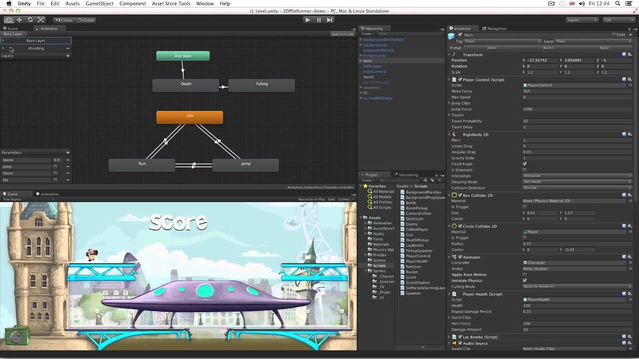 Unity 4.3 - 2D Game Development Walkthrough