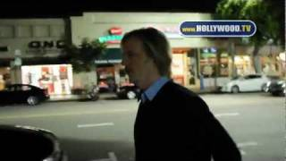 chanel-: David Spade, Kevin James, and Brian Wilson hang out in Westwood Village
