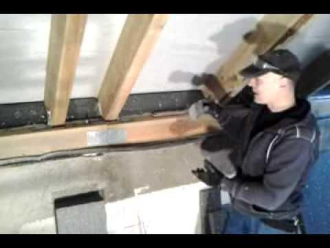Ocieplenie dachu i zabudowa g/k poddasza  - cz.1 murbelka