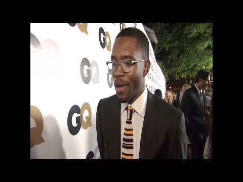 Frank Ocean Red Carpet Interview @ GQ