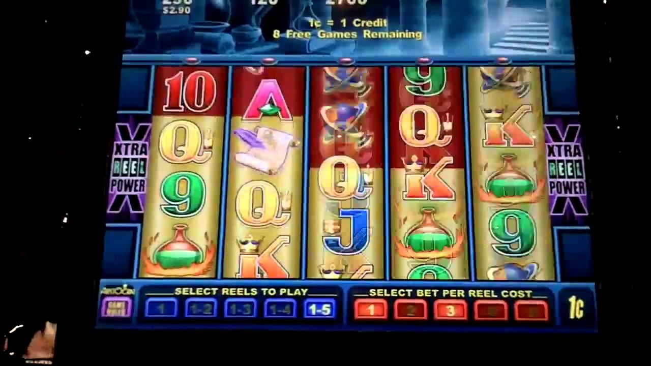 Las vegas slot machine strategy