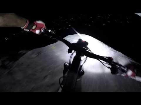 Nighttime POV Run Through Tod Pit With Richie Schley