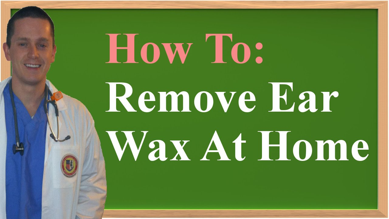 Earache from ear wax removal drops cabal