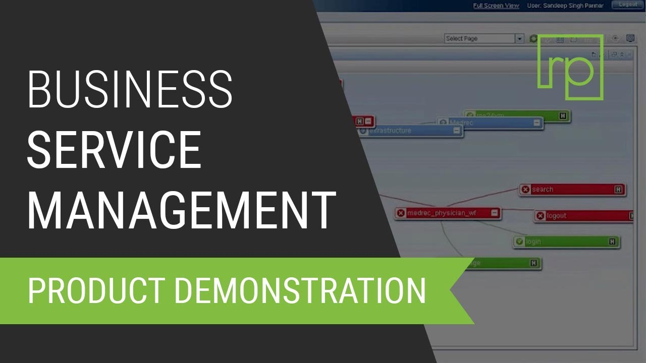 HP Business Service Management (BSM) Overview - YouTube