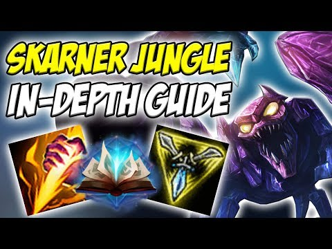 GUIDE ON HOW TO PLAY SKARNER JUNGLE IN SEASON 8! ACTUALLY OP! INSANE LOCKDOWN! - League of Legends