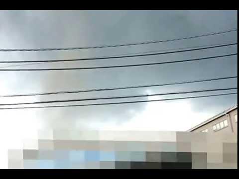 埼玉県越谷市 竜巻上陸2013/9/2 14:00