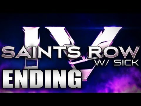 Saints Row Iv Ending Finale Kill Zinyak Playthrough W Sick