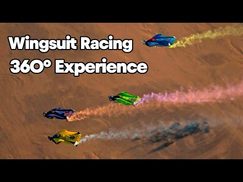 GoPro View: High Speed Wingsuit Racing at Red Bull Aces   360° Experience