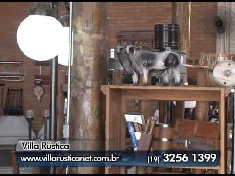 ..::LOJA DE DECORAÇÃO RÚSTICA EM CAMPINAS::.. VILLA RÚSTICA 19 3256-1399 | TV Web Shop