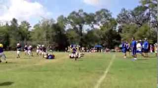 Big Hit - 8yo Little League Football Fullback...Damn!
