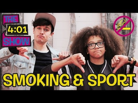 Does smoking make you rubbish at sport? Jimmy investigates smoking and sport