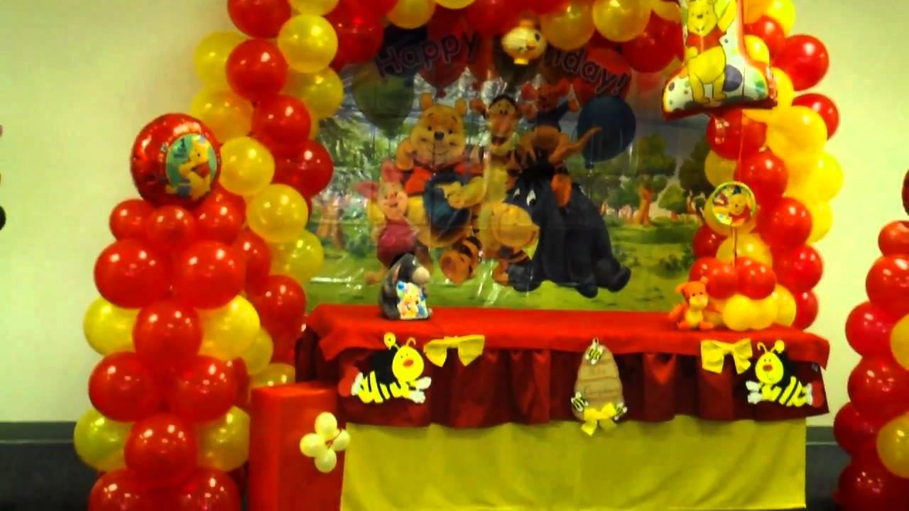 Decoraciones con globos luy youtube - Decoraciones con globos ...