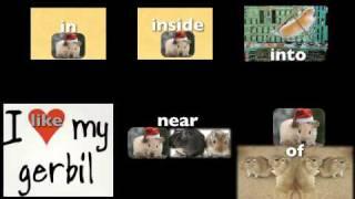 Preposition Song, A prepostion relates a noun