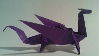 Origami ejderha yapımı