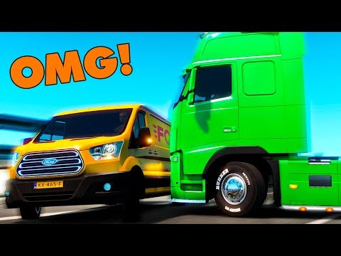 IDIOTS On The Road #2 - ETS2 MP | Funny Moments - Euro Truck Simulator 2 Multiplayer