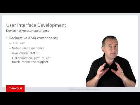 02 (Core). An Introduction to Oracle Mobile Application Framework (Oracle MAF)