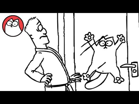 Simon's Cat Let me in