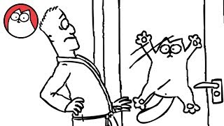 Simon's Cat - Let Me In!