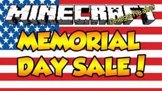 Memorial Day Sale on Omega Realm! 50% off EVERYTHING! (Monday, May 27th)