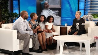 Ellen Surprises the Hopkins Family