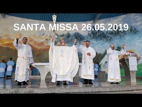 Santa Missa | 26.05.2019 | Padre José Sometti | ANSPAZ