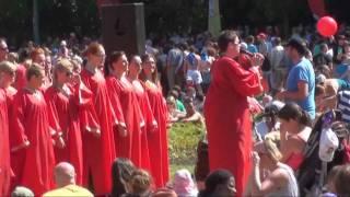 Hallelujah Gospel Choir Walking In Memphis