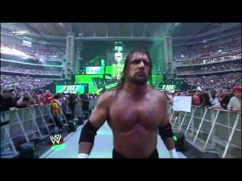 Wrestlemania 26 - Triple H Entrance [HD]