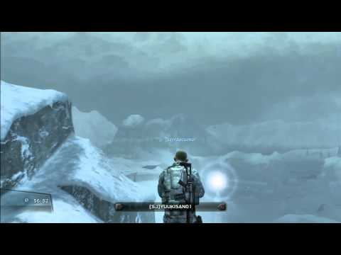 【PS3】SOCOM:CF (BLIZZARD)SKY FLOAT GLITCH